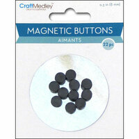 Multi Craft - Magnetic Buttons - 8mm
