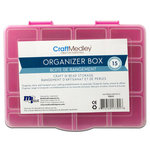 Multi Craft - Organizer Box with Lid - 6.5 x 5 x 1.25