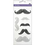 Multi Craft - Gem Stickers - Moustache Medley