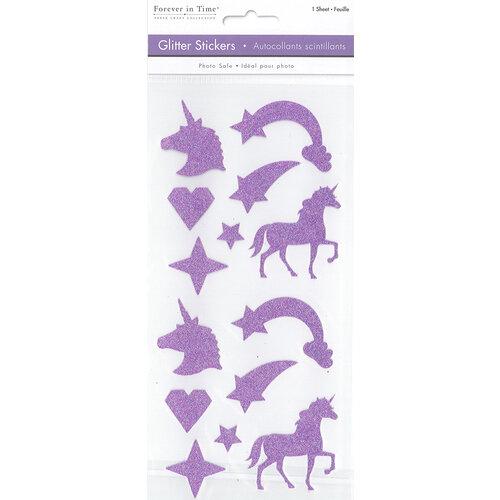 Multi Craft - Stickers - Glitter - Unicorn