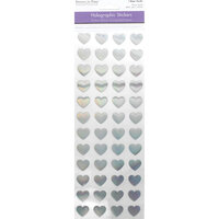 Multi Craft - Stickers - Holographic - Hearts