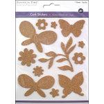 Multi Craft - Cork Stickers - Element - Frolic