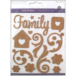 Multi Craft - Cork Stickers - Element - Family