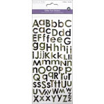 Multi Craft - Cardstock Stickers - Alphabet - Glitter Reptile