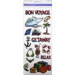 Multi Craft - Clear Stickers - Bon Voyage
