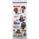 Multi Craft - Clear Stickers - Pirates