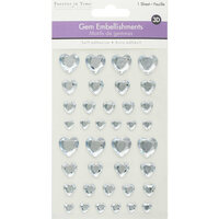 Multi Craft - 3D Gem Stickers - Crystal Hearts