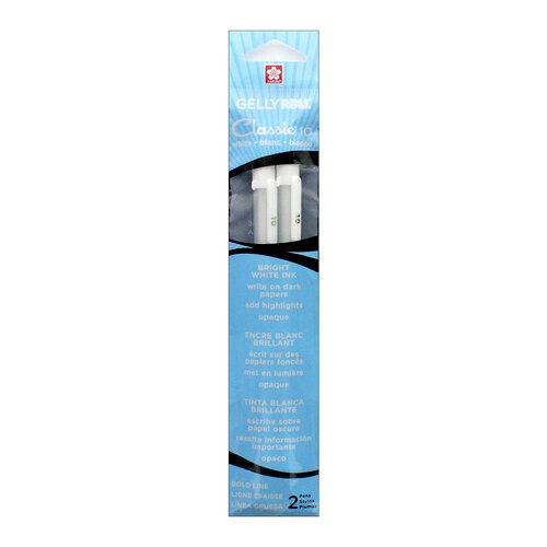 Sakura - Gelly Roll Pen - Classic - 10 Bold - White - 2 Pack