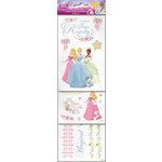 SandyLion - Disney Collection - Cardstock Stickers - Multi Pack - Princess
