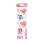 SandyLion - Disney Collection - Clear Stickers - Princess Phrases