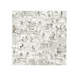 SandyLion - Disney Collection - 12 x 12 Paper - Mickey Cream Comic