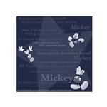 SandyLion - Disney Collection - 12 x 12 Paper - Mickey Tonal