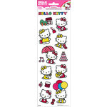 SandyLion - Hello Kitty Collection - Cardstock Stickers with Glitter Accents - Tall