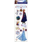 SandyLion - Disney Collection - Clear Stickers with Glitter Accents - Frozen