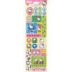 SandyLion - Hello Kitty Collection - Cardstock Stickers with Glitter Accents