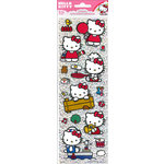 SandyLion - Hello Kitty Collection - 3 Dimensional Stickers with Glitter Accents - Tall