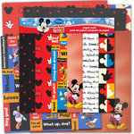SandyLion - Disney Collection - 12 x 12 Paper Pack - Mickey and Friends