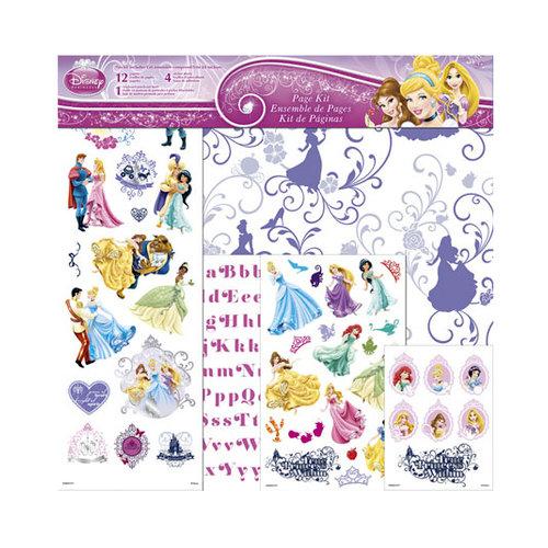SandyLion - Disney Collection - 12 x 12 Page Kit - Princess