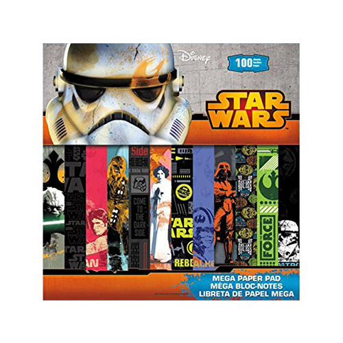 SandyLion - Disney Collection - 12 x 12 Mega Paper Pad - Star Wars