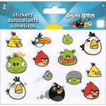 SandyLion - Angry Birds Collection - Cardstock Stickers - Mini - Foldover