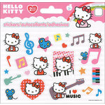 SandyLion - Hello Kitty Collection - Cardstock Stickers - Mini - Foldover