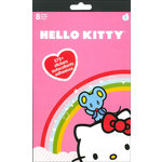SandyLion - Hello Kitty Collection - Cardstock Stickers - Pad - 8 Sheets