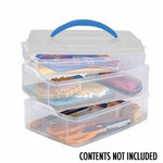 Snapware - Snap 'N Stack Medium Rectangle - 3 Layers