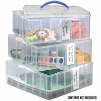 Snapware - Snap 'N Stack - Large Square - 3 Layers 4 Dividers