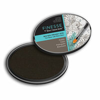 Crafter's Companion - Spectrum Noir - Finesse Water Proof Ink Pad - Pebble