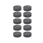 The Magnet Source - Magnetic Ceramic Disc - 1/2 Inch - 10 Piece