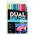 Tombow - Dual Brush Pen - 10 Color Set - Tropical
