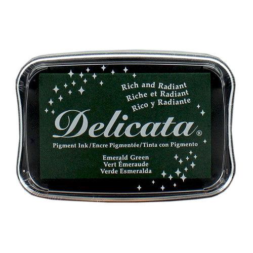 Tsukineko - Delicata - Ink Pad - Emerald Green