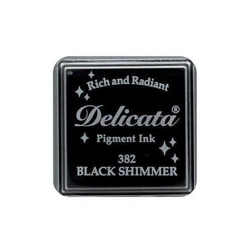 Tsukineko - Delicata - Ink Pad - Small - Black Shimmer