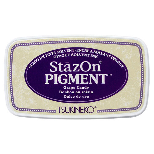 Tsukineko - StazOn - Pigment Ink Pad - Grape Candy