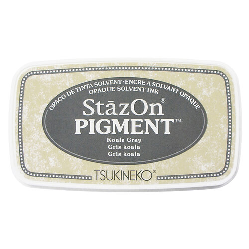 Tsukineko - StazOn - Pigment Ink Pad - Koala Gray