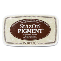 Tsukineko - StazOn - Pigment Ink Pad - Chocolate Brown