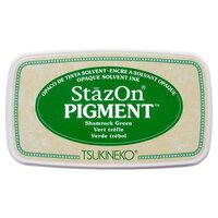 Tsukineko - StazOn - Pigment Ink Pad - Shamrock Green