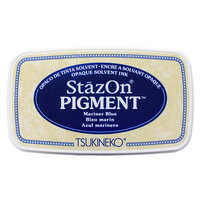Tsukineko - StazOn - Pigment Ink Pad - Mariner Blue