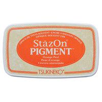Tsukineko - StazOn - Pigment Ink Pad - Orange Peel