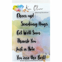 Ken Oliver - Clear Acrylic Stamps - Sharing Sunshine