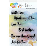 Ken Oliver - Clear Acrylic Stamps - Special Thoughts
