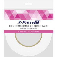 X-Press It - High Tack - Double Sided Tape Roll - .5 Inch x 55 yards