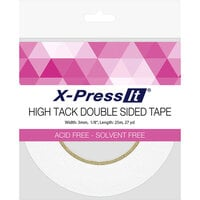 X-Press It - High Tack - Double Sided Tape Roll - .125 Inch x 27 yards