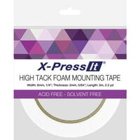 X-Press It - High Tack - Double Sided Foam Mounting Tape Roll - .25 Inch x 2.2 yards