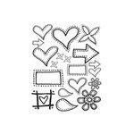 Polar Bear Press - Doodle-Rubs - Dots - Rub Ons