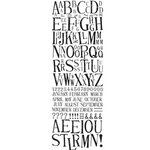 Polar Bear Press - Doodle-Rubs - Hand Stamped Alphabet - Rub Ons, CLEARANCE