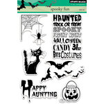 Penny Black - Halloween - Clear Acrylic Stamps - Spooky Fun