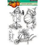 Penny Black - Clear Acrylic Stamps - Autumn Splendor