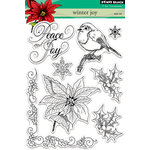 Penny Black - Clear Acrylic Stamps - Winter Joy