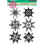 Penny Black - Christmas - Clear Acrylic Stamps - Snowbursts
